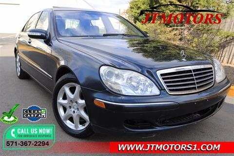 2003 Mercedes-Benz S-Class for sale in Chantilly, VA