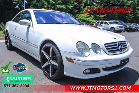 2004 Mercedes-Benz CL-Class for sale in Chantilly, VA