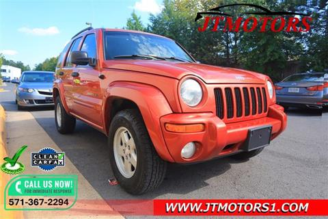 2002 Jeep Liberty for sale in Chantilly, VA