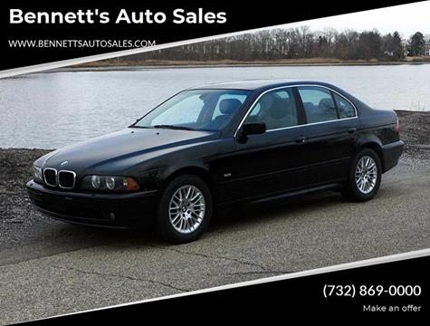 2001 BMW 5 Series 530i for sale at Bennett's Auto Sales in Neptune NJ