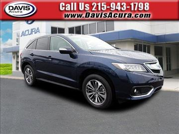 2017 Acura RDX for sale in Langhorne, PA