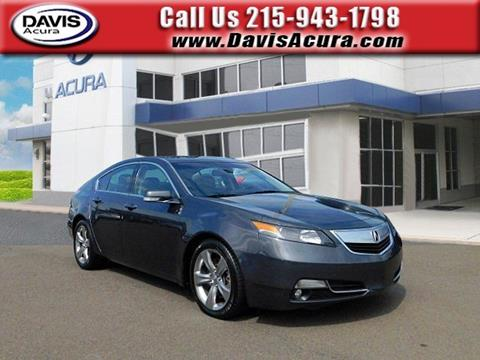 2012 Acura TL for sale in Langhorne, PA
