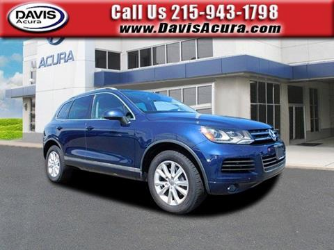 2013 Volkswagen Touareg for sale in Langhorne, PA