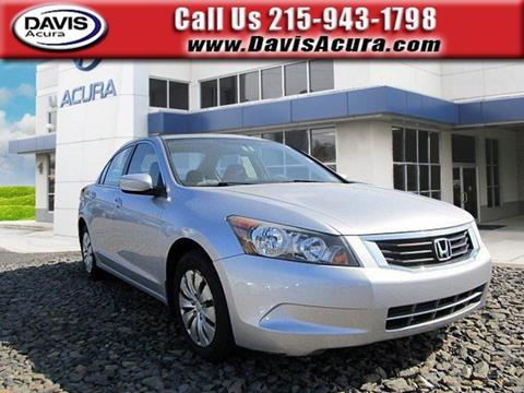 2009 Honda Accord for sale in Langhorne, PA
