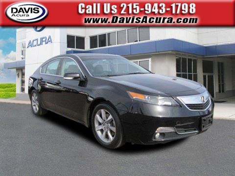 2013 Acura TL for sale in Langhorne, PA