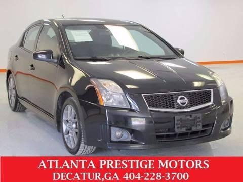 2010 Nissan Sentra for sale at Atlanta Prestige Motors in Decatur GA