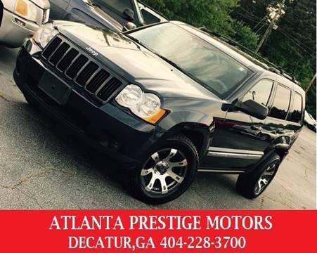 2010 Jeep Grand Cherokee for sale at Atlanta Prestige Motors in Decatur GA
