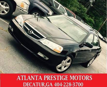 2003 Acura TL for sale at Atlanta Prestige Motors in Decatur GA