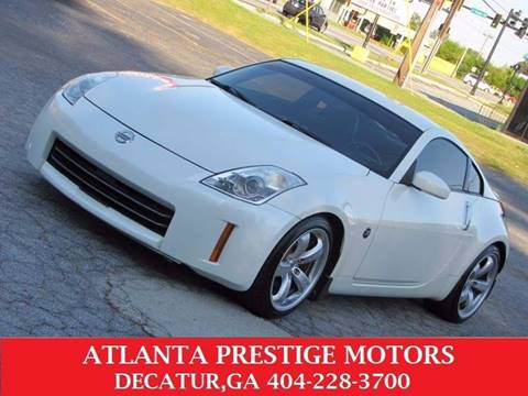 2008 Nissan 350Z for sale at Atlanta Prestige Motors in Decatur GA