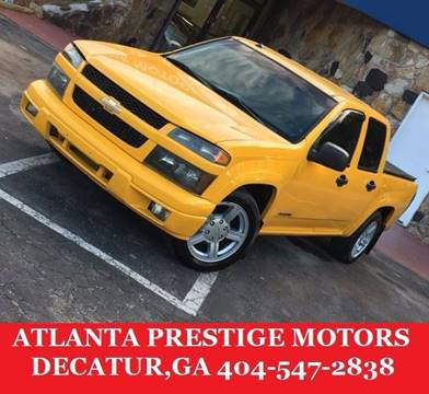 2004 Chevrolet Colorado for sale at Atlanta Prestige Motors in Decatur GA