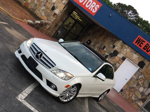 2008 Mercedes-Benz C-Class for sale at Atlanta Prestige Motors in Decatur GA