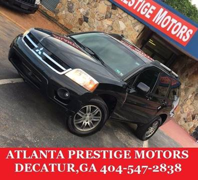 2008 Mitsubishi Endeavor for sale at Atlanta Prestige Motors in Decatur GA