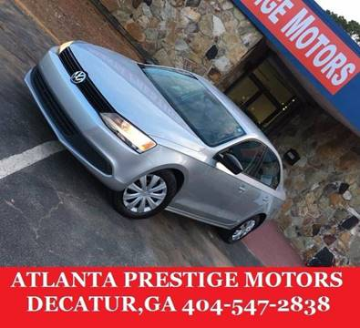 2013 Volkswagen Jetta for sale at Atlanta Prestige Motors in Decatur GA