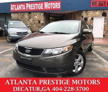 2010 Kia Forte for sale at Atlanta Prestige Motors in Decatur GA
