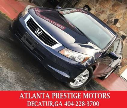 2008 Honda Accord for sale at Atlanta Prestige Motors in Decatur GA
