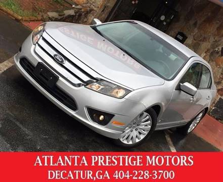 2011 Ford Fusion Hybrid for sale at Atlanta Prestige Motors in Decatur GA