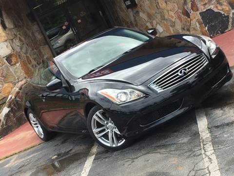2010 Infiniti G37 Convertible for sale at Atlanta Prestige Motors in Decatur GA