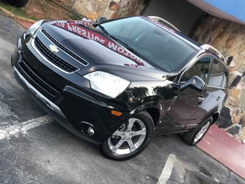 2012 Chevrolet Captiva Sport for sale at Atlanta Prestige Motors in Decatur GA