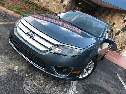 2011 Ford Fusion for sale at Atlanta Prestige Motors in Decatur GA