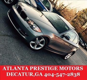 2010 BMW 1 Series for sale at Atlanta Prestige Motors in Decatur GA