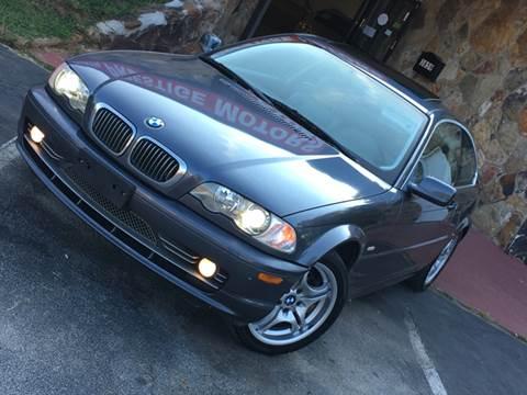 2003 BMW 3 Series for sale at Atlanta Prestige Motors in Decatur GA