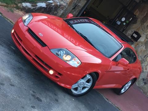 2003 Hyundai Tiburon for sale at Atlanta Prestige Motors in Decatur GA