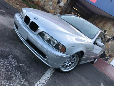 2002 BMW 5 Series for sale at Atlanta Prestige Motors in Decatur GA