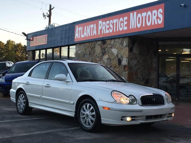 2004 Hyundai Sonata GLS 4dr Sedan In Decatur GA - Atlanta Prestige