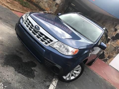 2013 Subaru Forester for sale at Atlanta Prestige Motors in Decatur GA