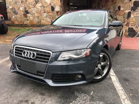 2010 Audi A4 for sale at Atlanta Prestige Motors in Decatur GA