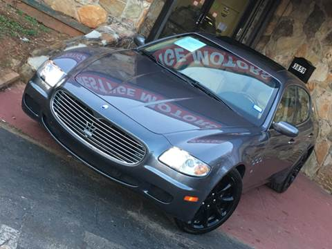2008 Maserati Quattroporte for sale at Atlanta Prestige Motors in Decatur GA