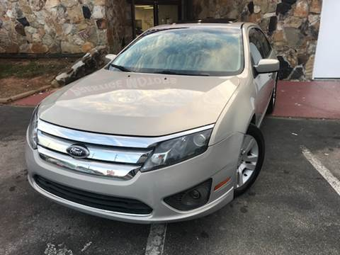 2010 Ford Fusion for sale at Atlanta Prestige Motors in Decatur GA