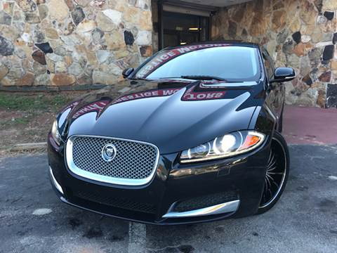 2012 Jaguar XF for sale at Atlanta Prestige Motors in Decatur GA