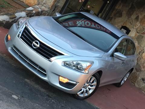 2014 Nissan Altima for sale at Atlanta Prestige Motors in Decatur GA