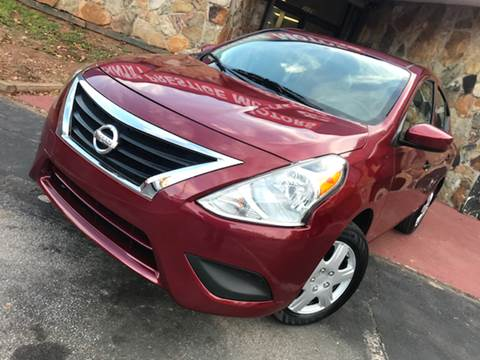 2017 Nissan Versa for sale at Atlanta Prestige Motors in Decatur GA