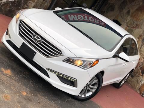 2015 Hyundai Sonata for sale at Atlanta Prestige Motors in Decatur GA