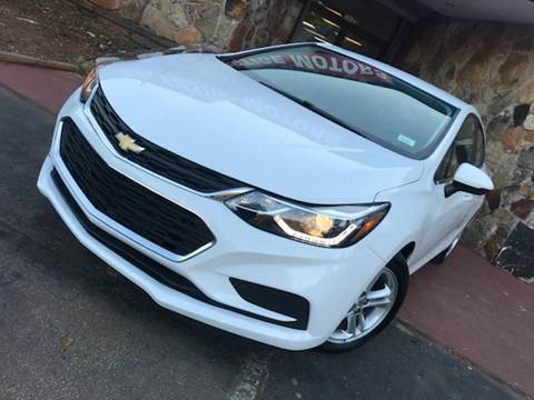 2016 Chevrolet Cruze for sale at Atlanta Prestige Motors in Decatur GA