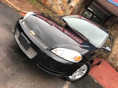 2012 Chevrolet Impala for sale at Atlanta Prestige Motors in Decatur GA