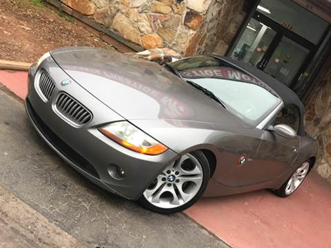 2003 BMW Z4 for sale at Atlanta Prestige Motors in Decatur GA