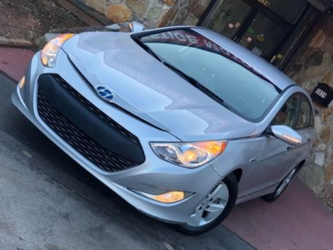 2012 Hyundai Sonata Hybrid for sale at Atlanta Prestige Motors in Decatur GA
