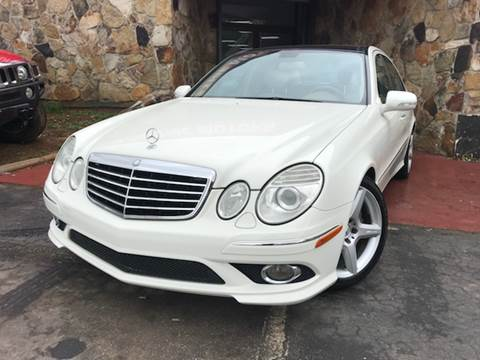 2009 Mercedes-Benz E-Class for sale at Atlanta Prestige Motors in Decatur GA