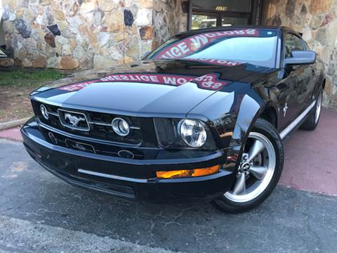 used 2006 ford mustang for sale in georgia. Black Bedroom Furniture Sets. Home Design Ideas