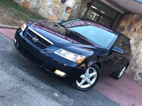 2006 Hyundai Sonata for sale at Atlanta Prestige Motors in Decatur GA