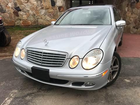 2006 Mercedes-Benz E-Class for sale at Atlanta Prestige Motors in Decatur GA