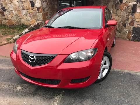 2005 Mazda MAZDA3 for sale at Atlanta Prestige Motors in Decatur GA