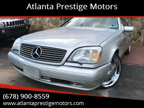 1998 Mercedes-Benz CL-Class for sale in Decatur, GA