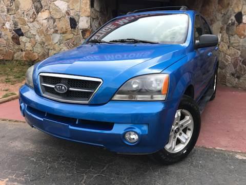 2005 Kia Sorento for sale at Atlanta Prestige Motors in Decatur GA