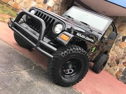 2000 Jeep Wrangler for sale at Atlanta Prestige Motors in Decatur GA