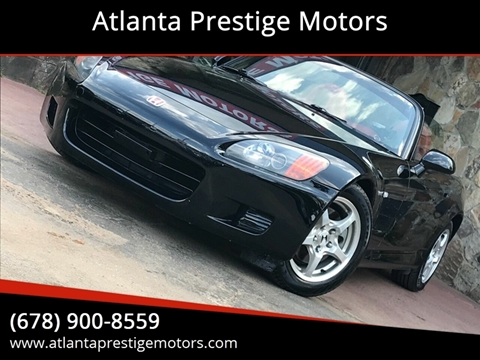 2002 Honda S2000 for sale in Decatur, GA