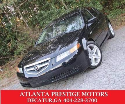 2004 Acura TL for sale at Atlanta Prestige Motors in Decatur GA